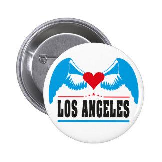 Los Angeles 6 Cm Round Badge