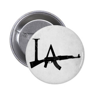 Los Angeles AK47 6 Cm Round Badge