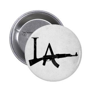 Los Angeles AK47 6 Cm Round Badge