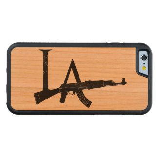Los Angeles AK47 Carved Cherry iPhone 6 Bumper Case