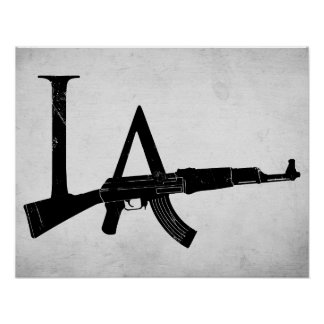 Los Angeles AK47 Poster