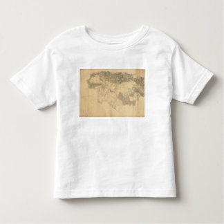 Los Angeles and San Bernardino Topography Toddler T-Shirt