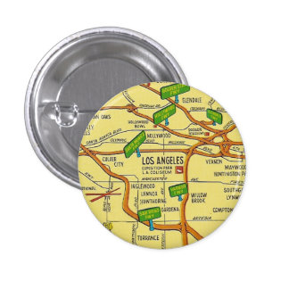 Los Angeles Pinback Button
