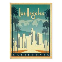 Los Angeles, CA 2 Postcard
