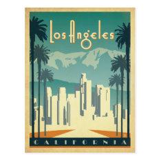 Los Angeles, CA 2 Postcard at Zazzle