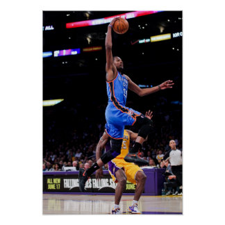 LOS ANGELES, CA - MAY 19: Kevin Durant #35 of 2 Poster