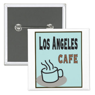 Los Angeles Cafe Buttons