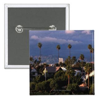 Los Angeles, California 15 Cm Square Badge