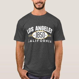 LOS ANGELES California 1850 CITY Incorporated Tee