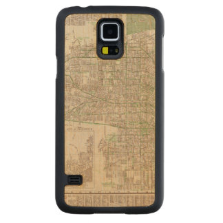 Los Angeles, California 2 Carved Maple Galaxy S5 Case
