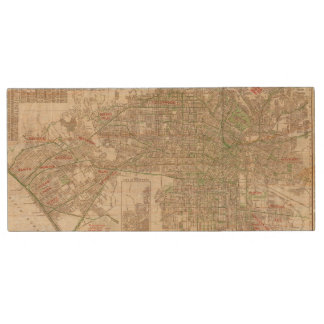 Los Angeles, California 2 Wood USB Flash Drive