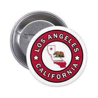 Los Angeles California 6 Cm Round Badge