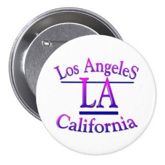 Los Angeles California 7.5 Cm Round Badge