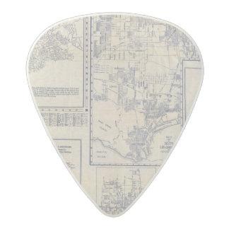Los Angeles, California Acetal Guitar Pick