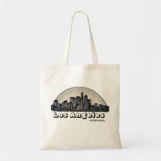 Los Angeles California artistic skyline bag