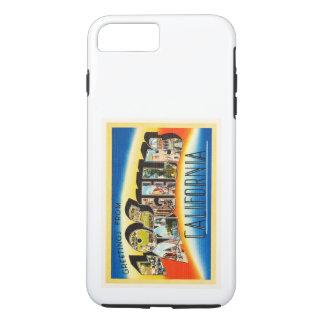 Los Angeles California CA Vintage Travel Souvenir iPhone 7 Plus Case