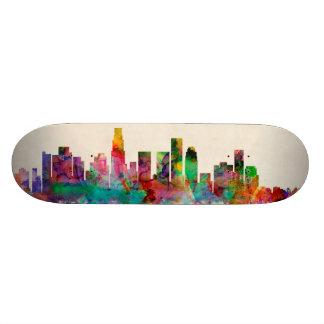 Los Angeles California Cityscape Skyline Custom Skate Board