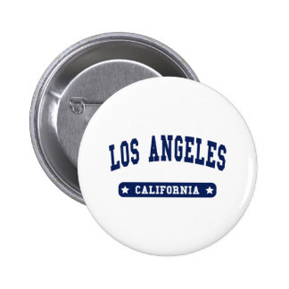 Los Angeles California College Style tee shirts 6 Cm Round Badge
