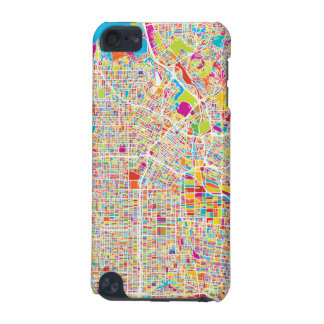 Los Angeles, California | Colorful Map iPod Touch (5th Generation) Cases