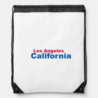 Los Angeles, California Drawstring Backpack