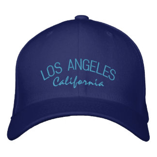 Los Angeles California Embroidered Baseball Cap