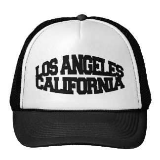 Los Angeles California Mesh Hats