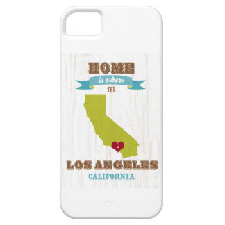 Los Angeles, California Map – Home Is Where iPhone 5 Cover
