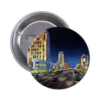 Los Angeles California Miracle Mile Wilshire Boule Pinback Button