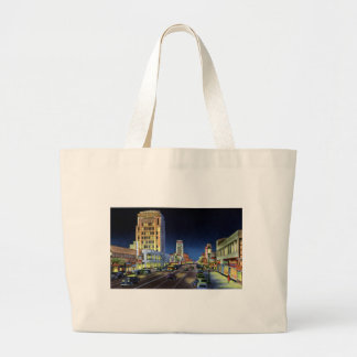 Los Angeles California Miracle Mile Wilshire Boule Canvas Bag