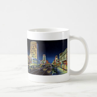 Los Angeles California Miracle Mile Wilshire Boule Basic White Mug