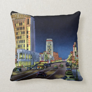 Los Angeles California Miracle Mile Wilshire Boule Cushions