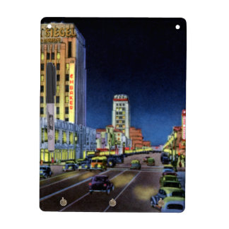 Los Angeles California Miracle Mile Wilshire Boule Dry Erase Whiteboard