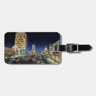 Los Angeles California Miracle Mile Wilshire Boule Travel Bag Tags