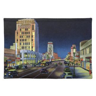 Los Angeles California Miracle Mile Wilshire Boule Place Mats