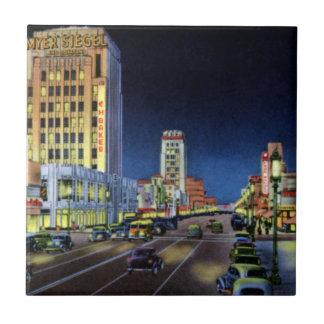 Los Angeles California Miracle Mile Wilshire Boule Ceramic Tile