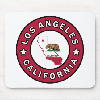 Los Angeles California Mouse Pad