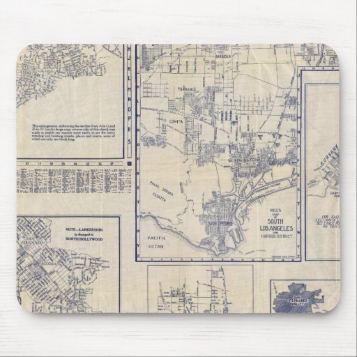 Los Angeles, California Mouse Pads