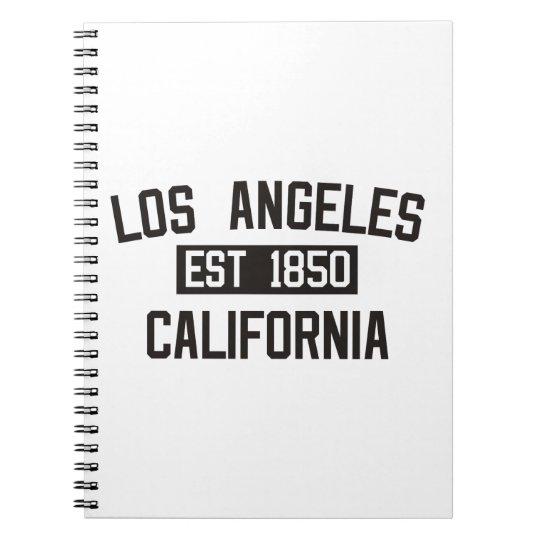 Los Angeles - California Notebooks