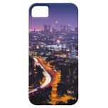 Los Angeles, California Skyline at night iPhone 5 Covers