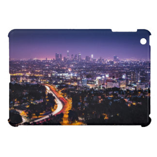 Los Angeles, California Skyline at night Case For The iPad Mini