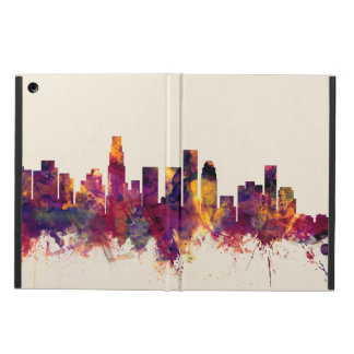 Los Angeles California Skyline iPad Air Cover