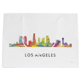 LOS ANGELES, CALIFORNIA SKYLINE WB1- LARGE GIFT BAG