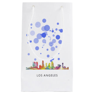LOS ANGELES, CALIFORNIA SKYLINE WB1- SMALL GIFT BAG