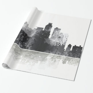 LOS ANGELES, CALIFORNIA SKYLINE WRAPPING PAPER