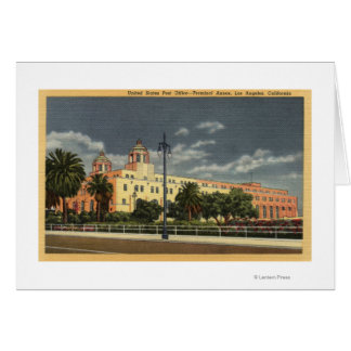 Los Angeles, CaliforniaPost Office--Terminal Card