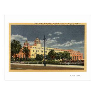 Los Angeles, CaliforniaPost Office--Terminal Postcard