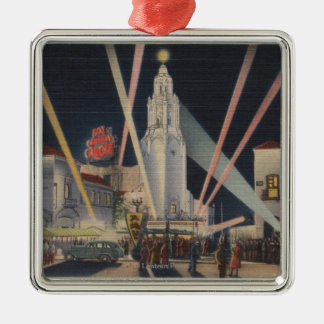 Los Angeles, CAPremier, Carthay Circle Theatre Christmas Ornament