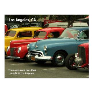 Los Angeles Car Postcard