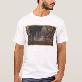 Los Angeles, CASouth View of Broadway from 6th T-Shirt