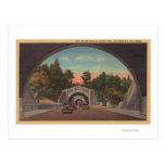Los Angeles, CATunnel View of Elysian Park Post Cards